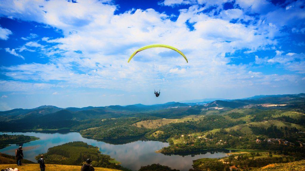 滑翔伞, 飞行, 风险, 降落伞, 高地, 1703121916