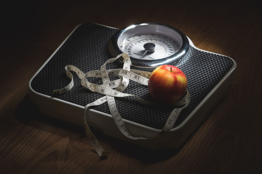 peso, báscula, cinta, manzana, metro, dieta, salud, 1703231323