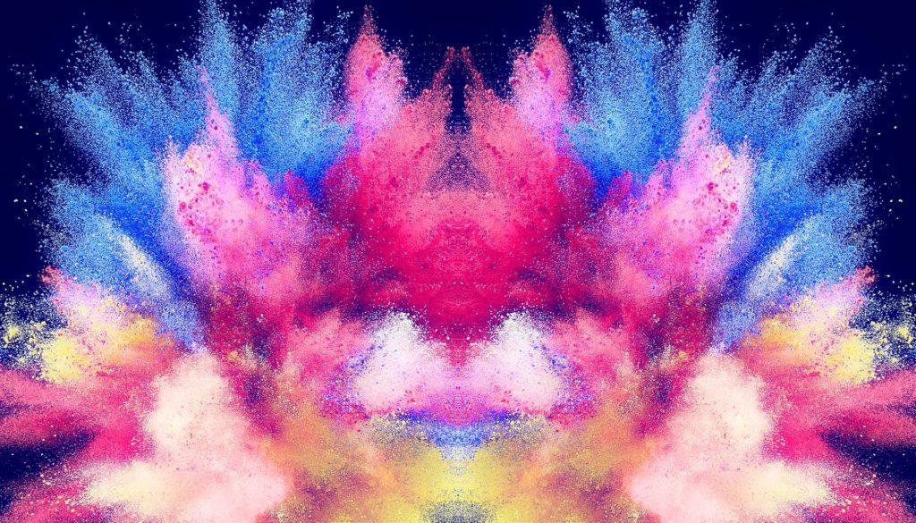 peinture, poudre, explosion, coloré, Splash, 1703231055