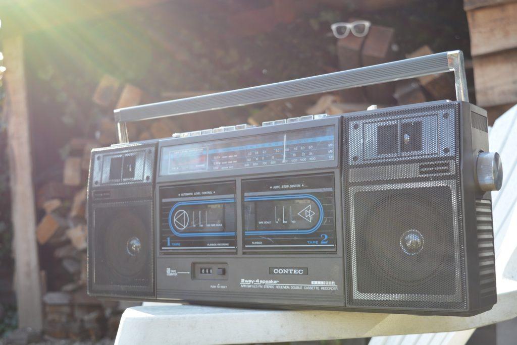 电台, 盒式磁带, 球员, 老, 年份, 80s, 1703061839