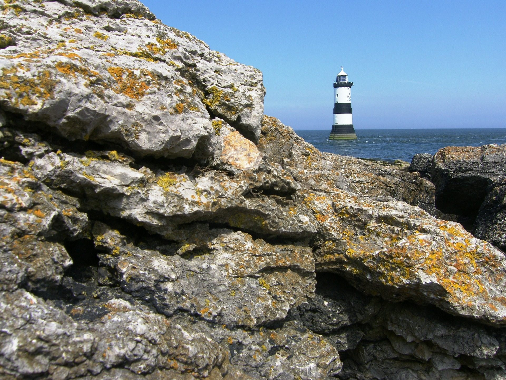الصخور, المنارة, البحر, كوستا, المحيط, دليل, Vigia - خلفيات عالية الدقة - أستاذ falken.com