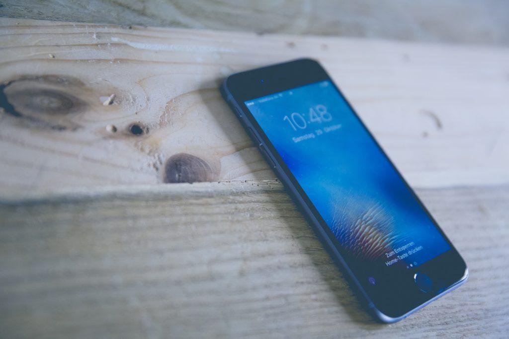 电话, 移动, 智能, 触摸, iPhone, 木材, 1703222050
