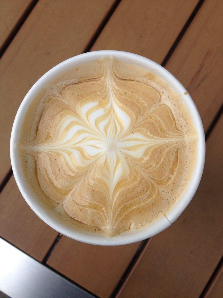 café, espuma, formas, dibujos, vaso, 1704031209