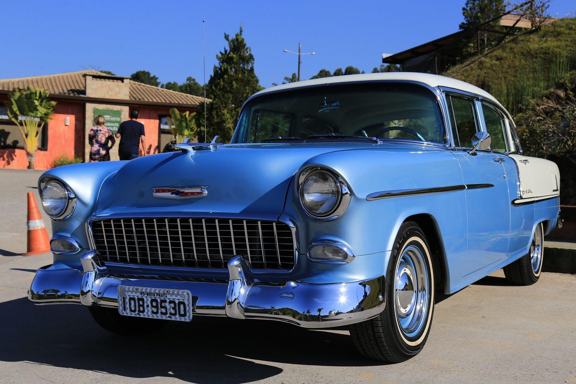 voiture, antiguo, vieux, Vintage, Bleu, Classique - Fonds d'écran HD - Professor-falken.com