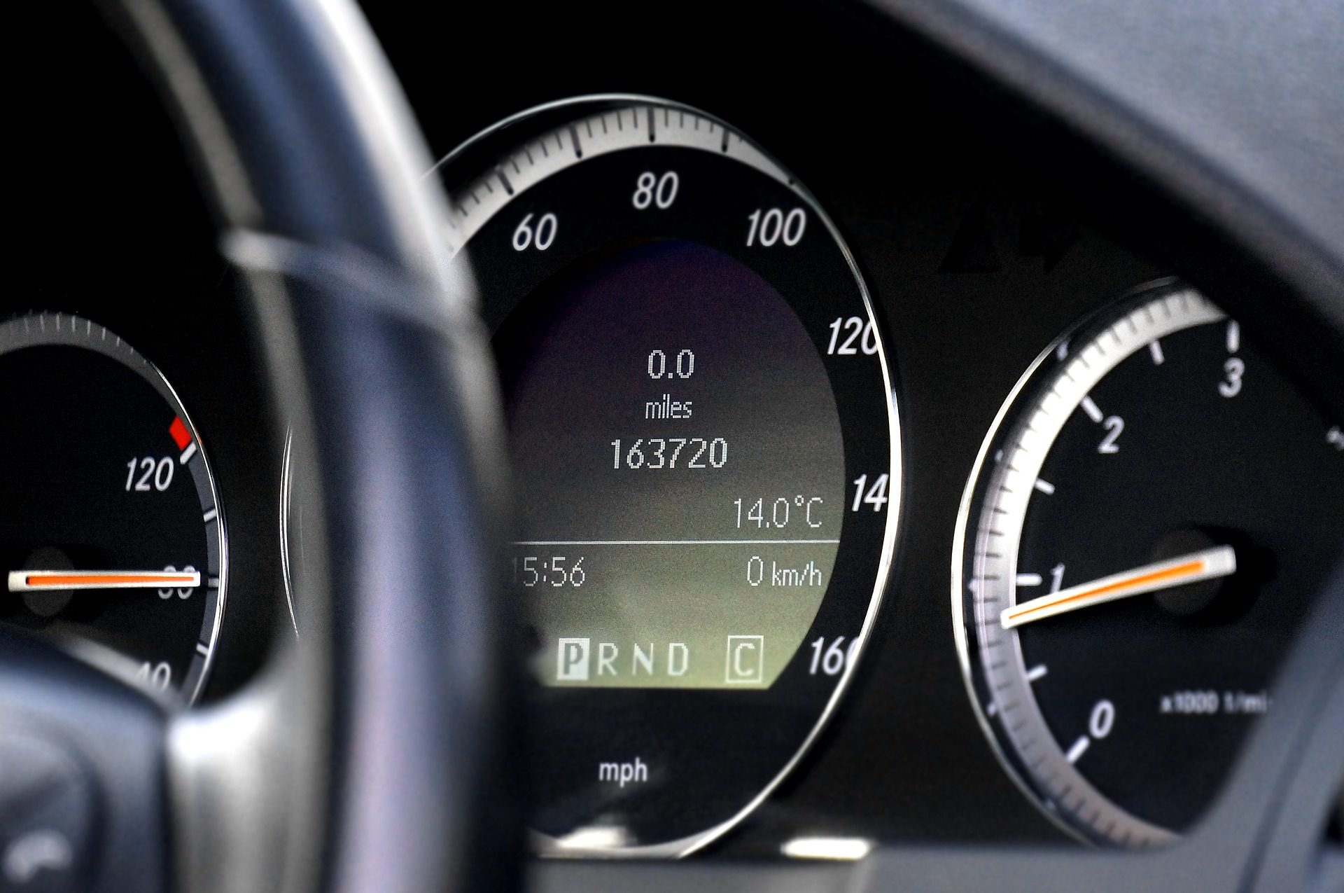 carro, salpicadero, Painel de controle, odómetro, velocidade, revoluções - Papéis de parede HD - Professor-falken.com