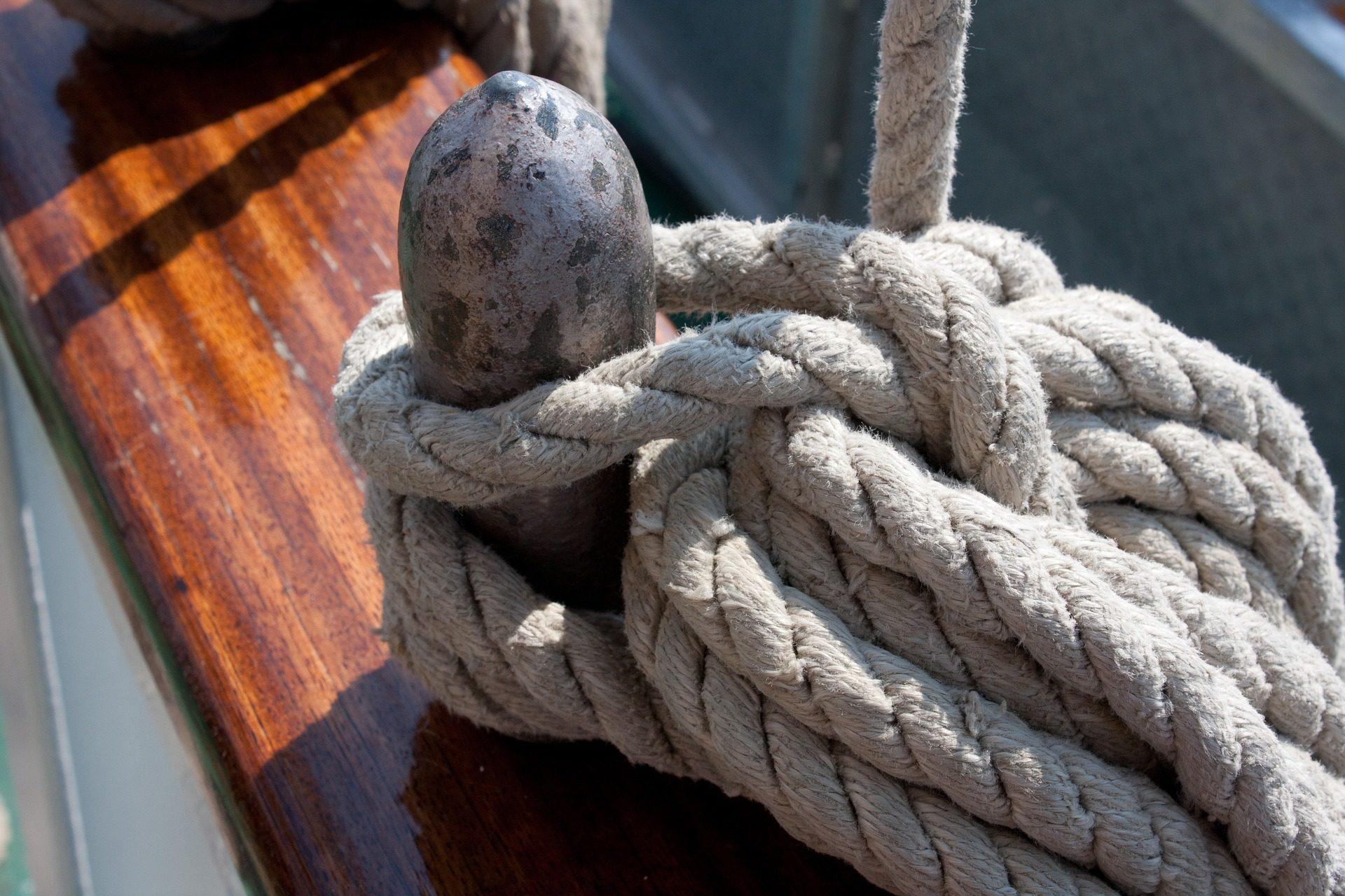corda, nó, Porto, engate, barco - Papéis de parede HD - Professor-falken.com