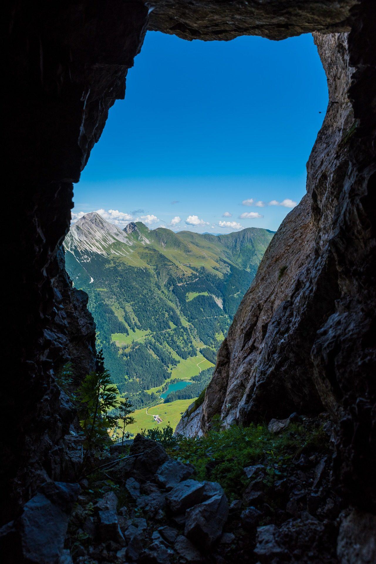 cueva, montañas, altura, alpes, escalada - Fondos de Pantalla HD - professor-falken.com