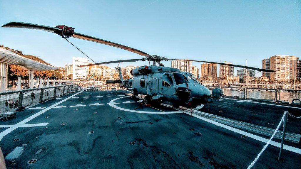 helicóptero, militar, sh-60b, seahawk, pista, vuelo, 1704211030
