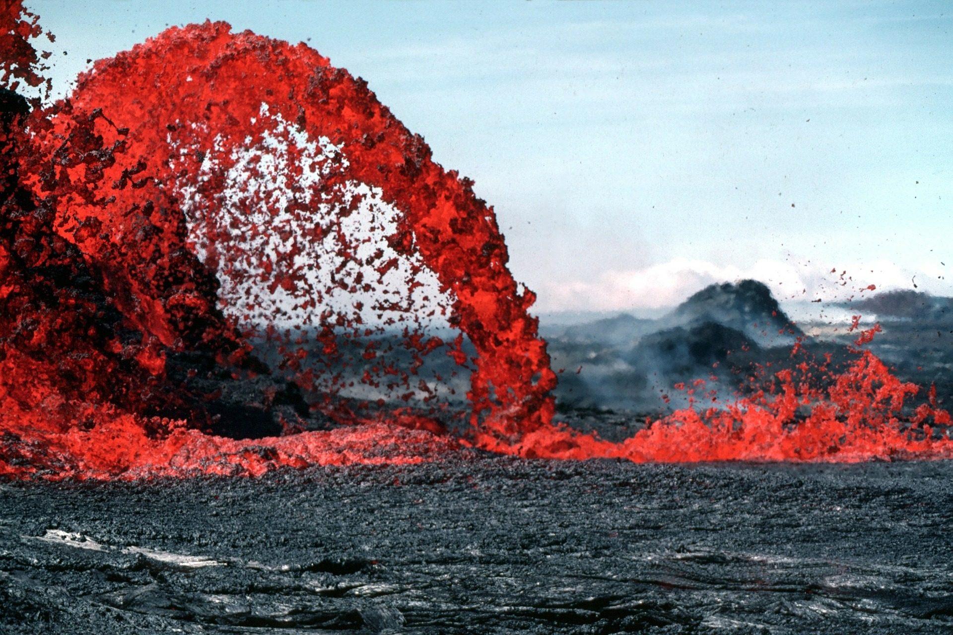 熔岩, 岩浆, 火山喷发, 火山, 热, 危险 - 高清壁纸 - 教授-falken.com
