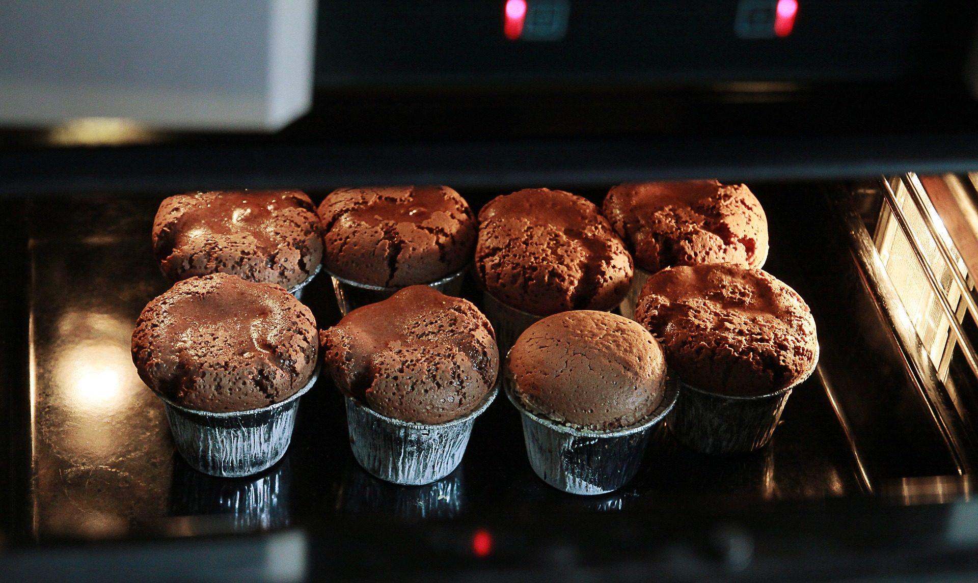 muffin, Cupcakes, cioccolato, forno, pasticceria, dolce, cucina - Sfondi HD - Professor-falken.com