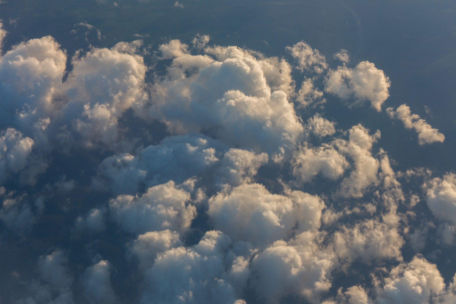 雲, ビュー, 空気, 積雲の雲, 巻雲, 積乱雲, 空 - HD の壁紙 - 教授-falken.com