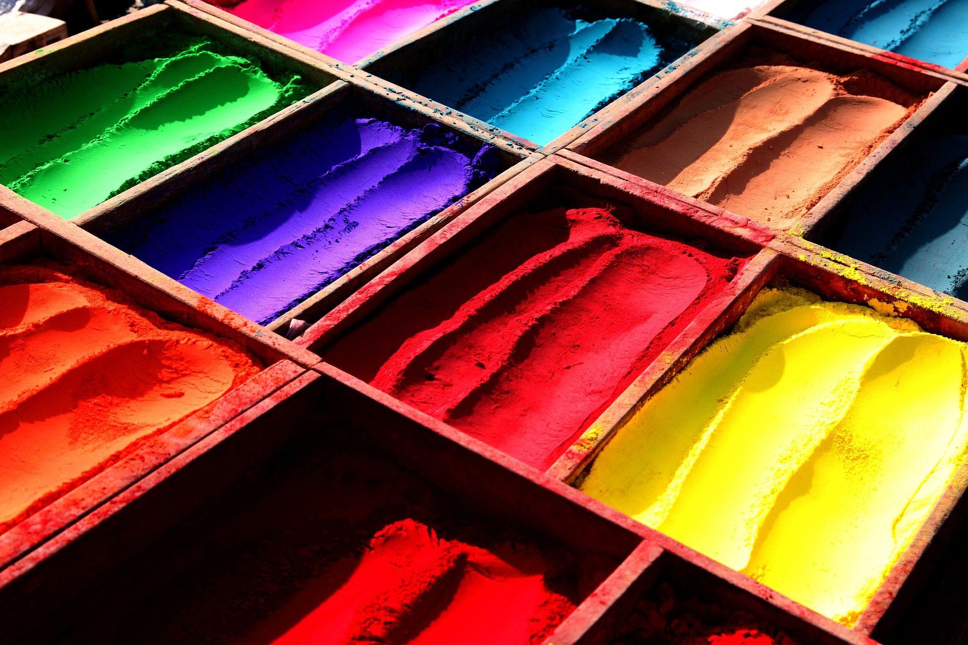 pós, cores, Holi, Festival, Nepal, Índia - Papéis de parede HD - Professor-falken.com