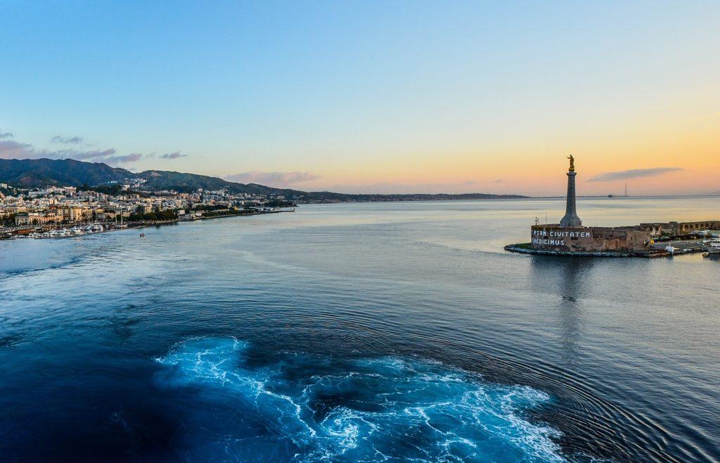 端口, 海, 城市, 湾, 西西里岛, 意大利, 1704111608