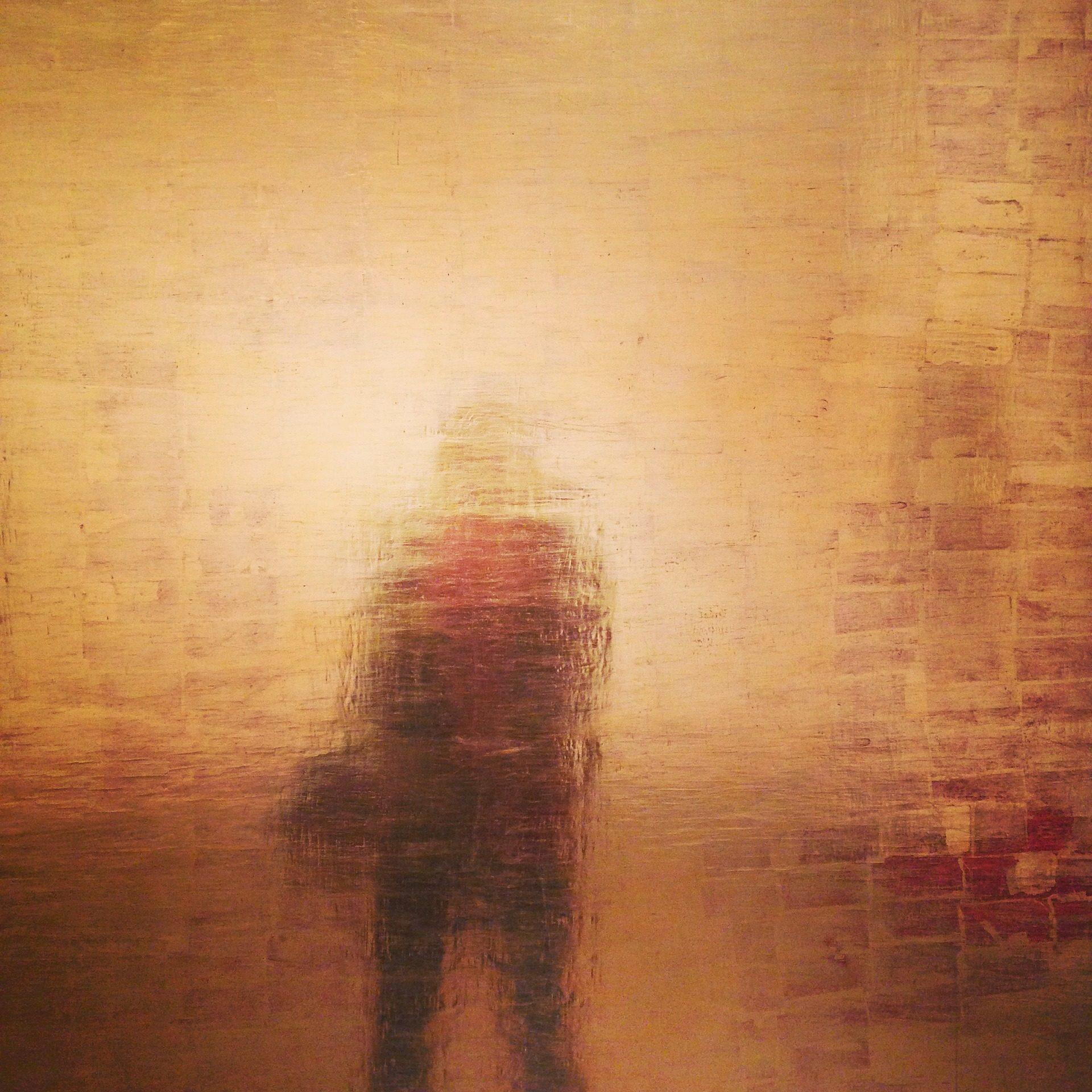 reflexão, Silhueta, pessoa, metálico, Dorado, 1704011040