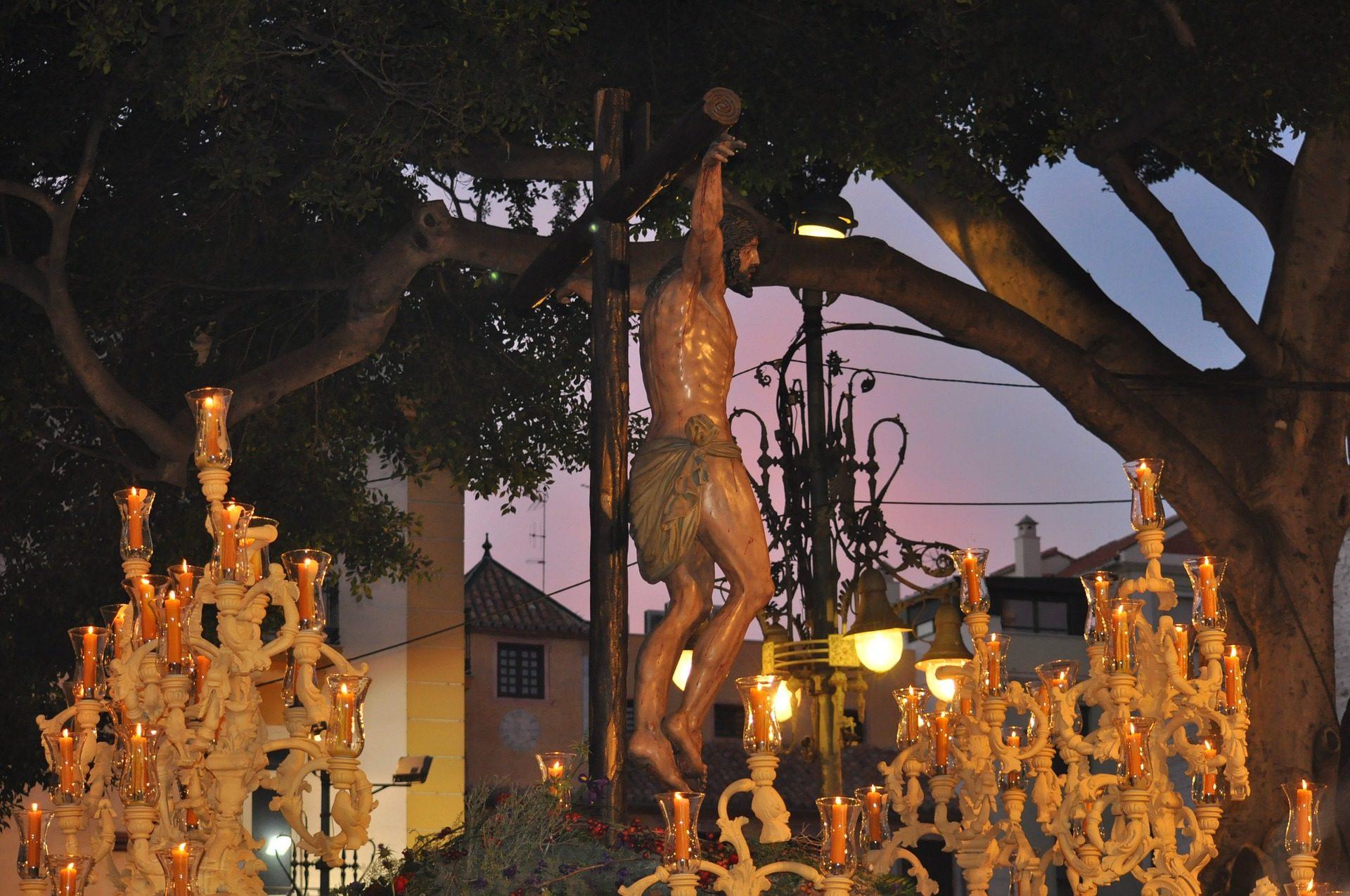 Pasqua, passo, processione, Cristo, Malaga, Spagna - Sfondi HD - Professor-falken.com