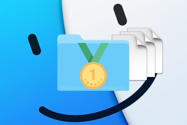 Πώς μπορείτε να εμφανίσετε τους φακέλους πρώτα, Κατά την ταξινόμηση κατά όνομα, στο παράθυρο του Finder για το Mac σας