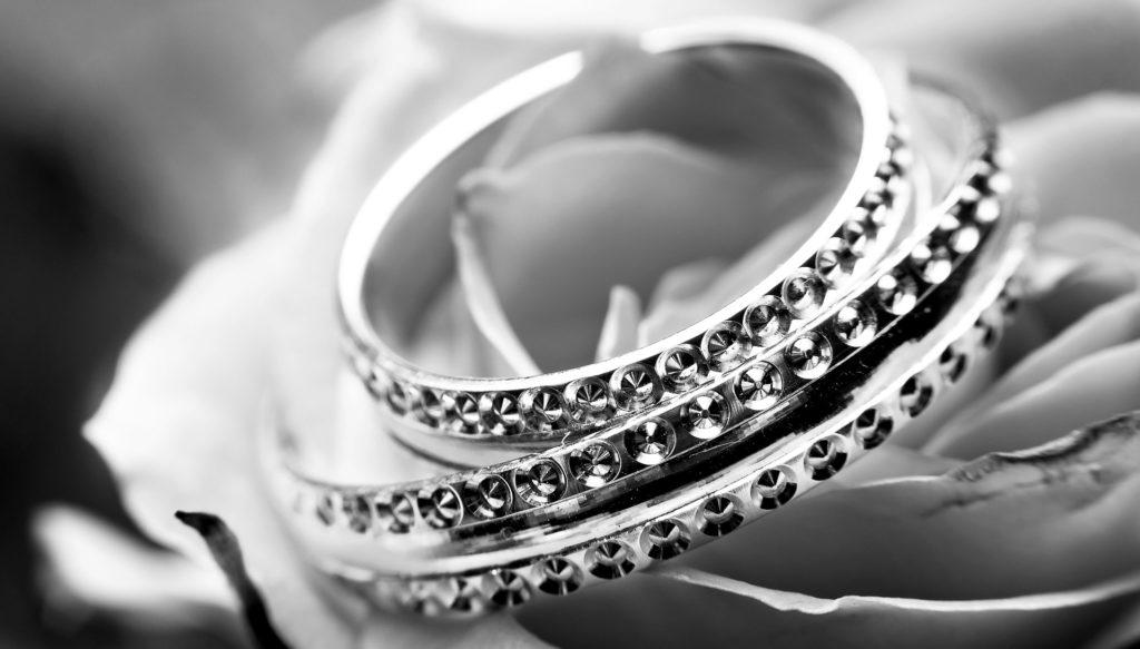 戒指, alianzas, 光明, unio联盟�礼, 在黑色和白色, 1705180826