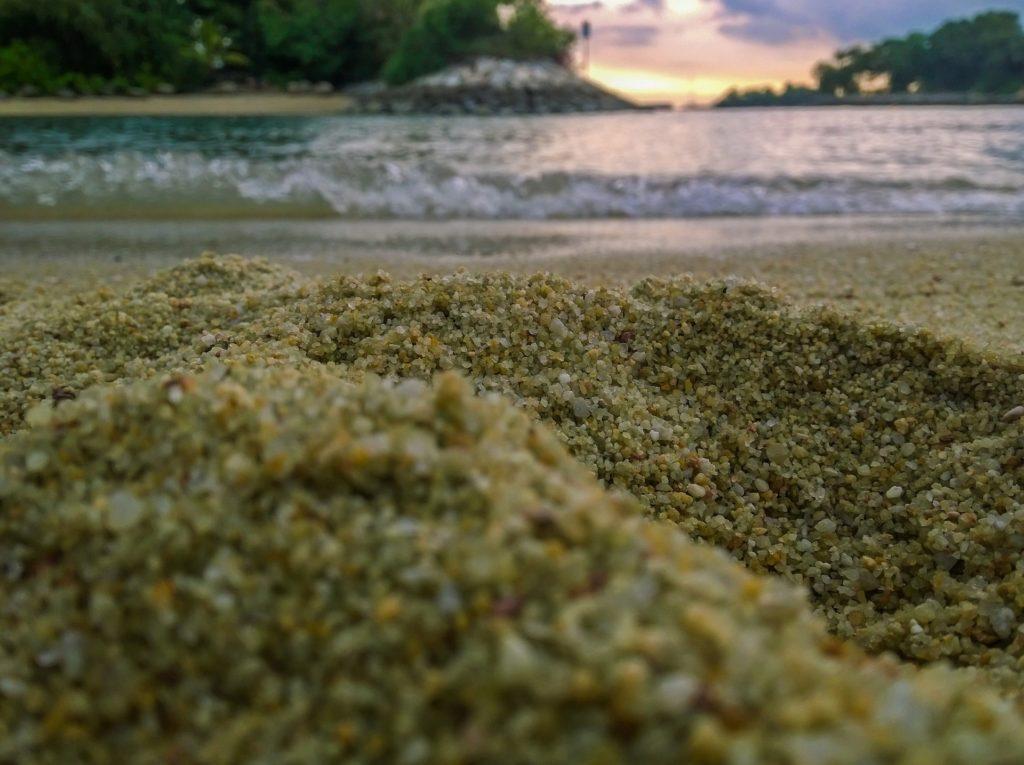 砂, 穀物, ビーチ, 水, 海, 波, 1705251524