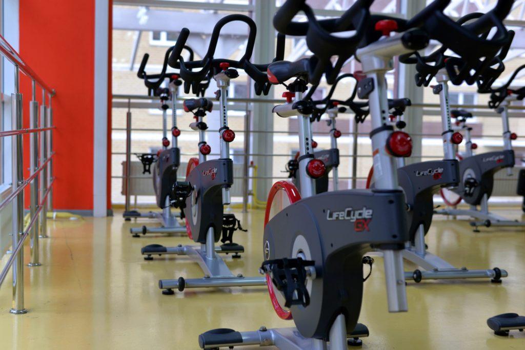 自行车, 静态, 健身房, 骑自行车, 纺纱, 锻炼, 保佑你, 1705231420