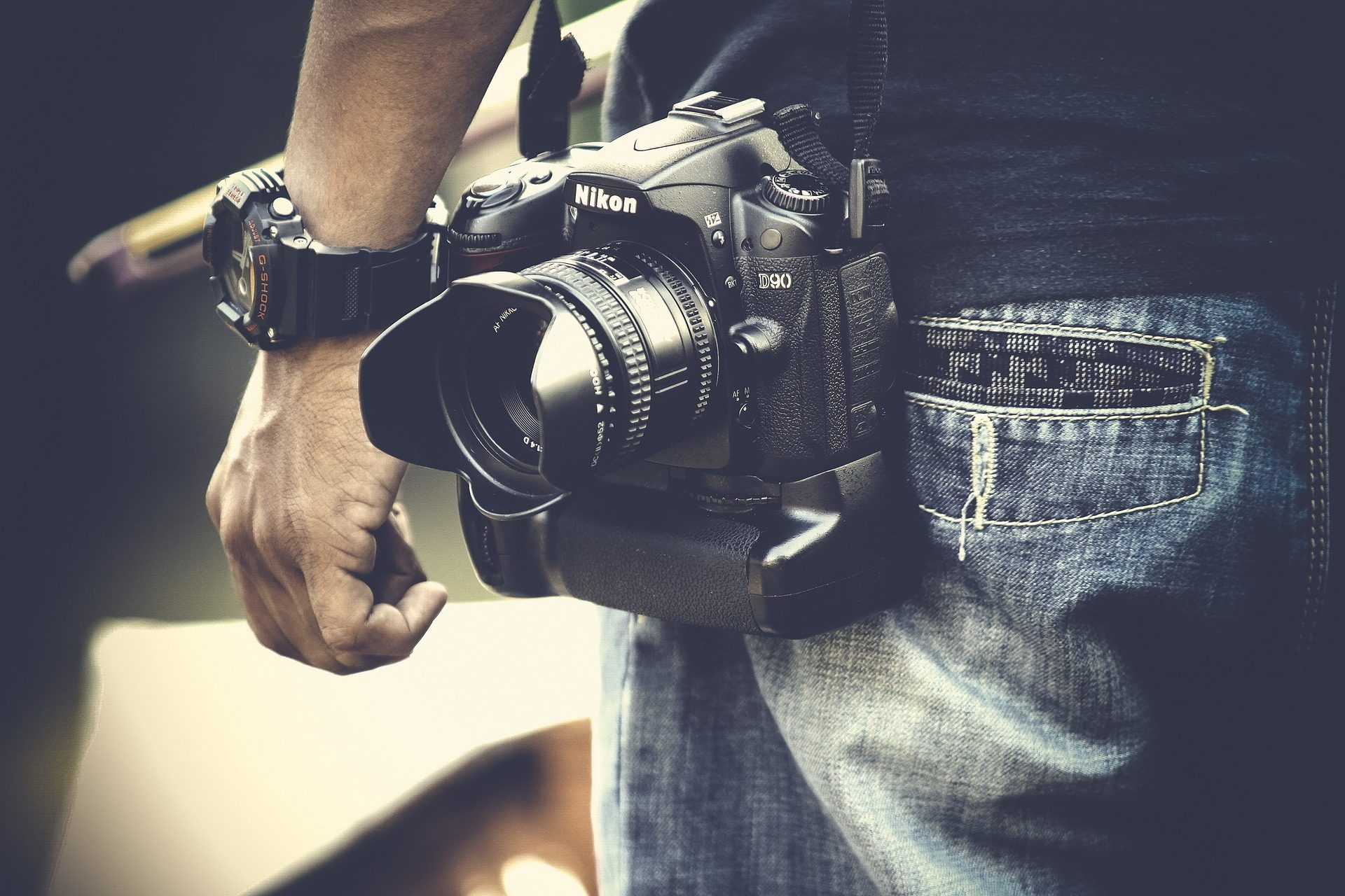 カメラ, 写真, 男, 写真家, 反射, 手, 時計 - HD の壁紙 - 教授-falken.com