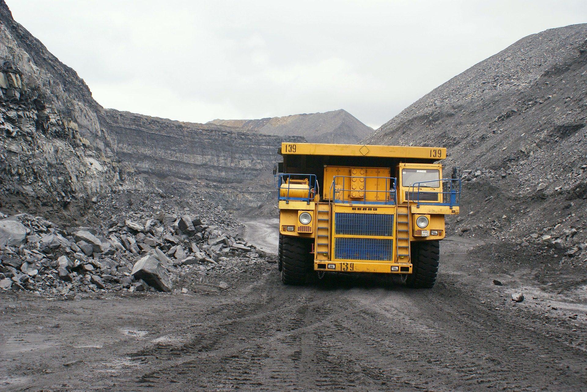 φορτηγό, βαριά, Ανατρεπώμενα, δική μου, ανασκαφή, πέτρες, ανόργανα άλατα - Wallpapers HD - Professor-falken.com