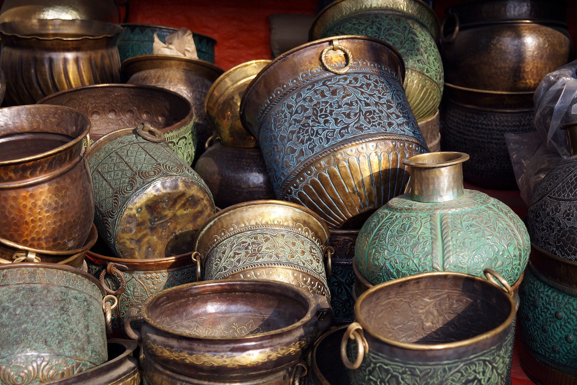 ciotole, vasijas, navi, rame, oggetto d'antiquariato - Sfondi HD - Professor-falken.com
