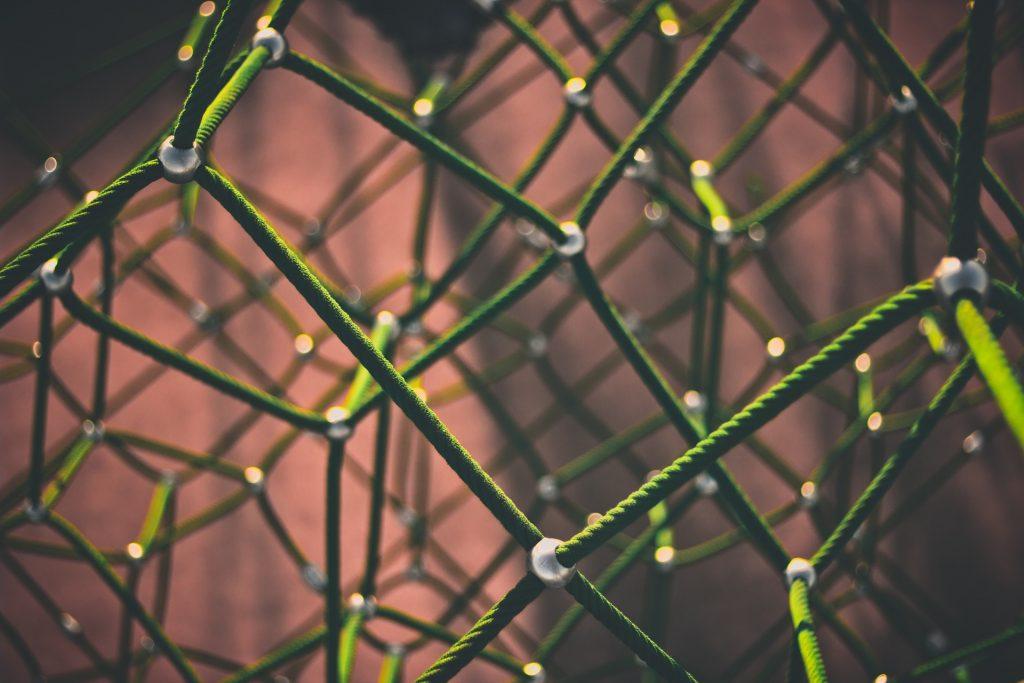 cuerda, red, malla, nodos, enlaces, uniones, conexiones, 1706010851