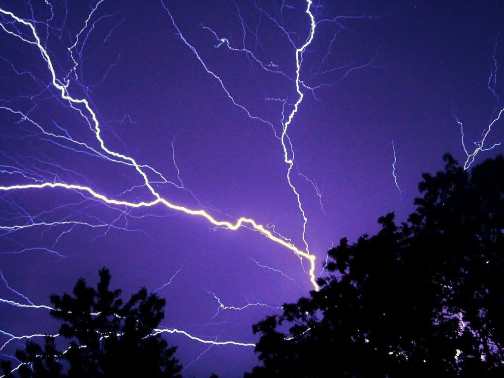 レイ, 電気, ロード, 空, 夜, フラッシュ, 嵐, 1705252121