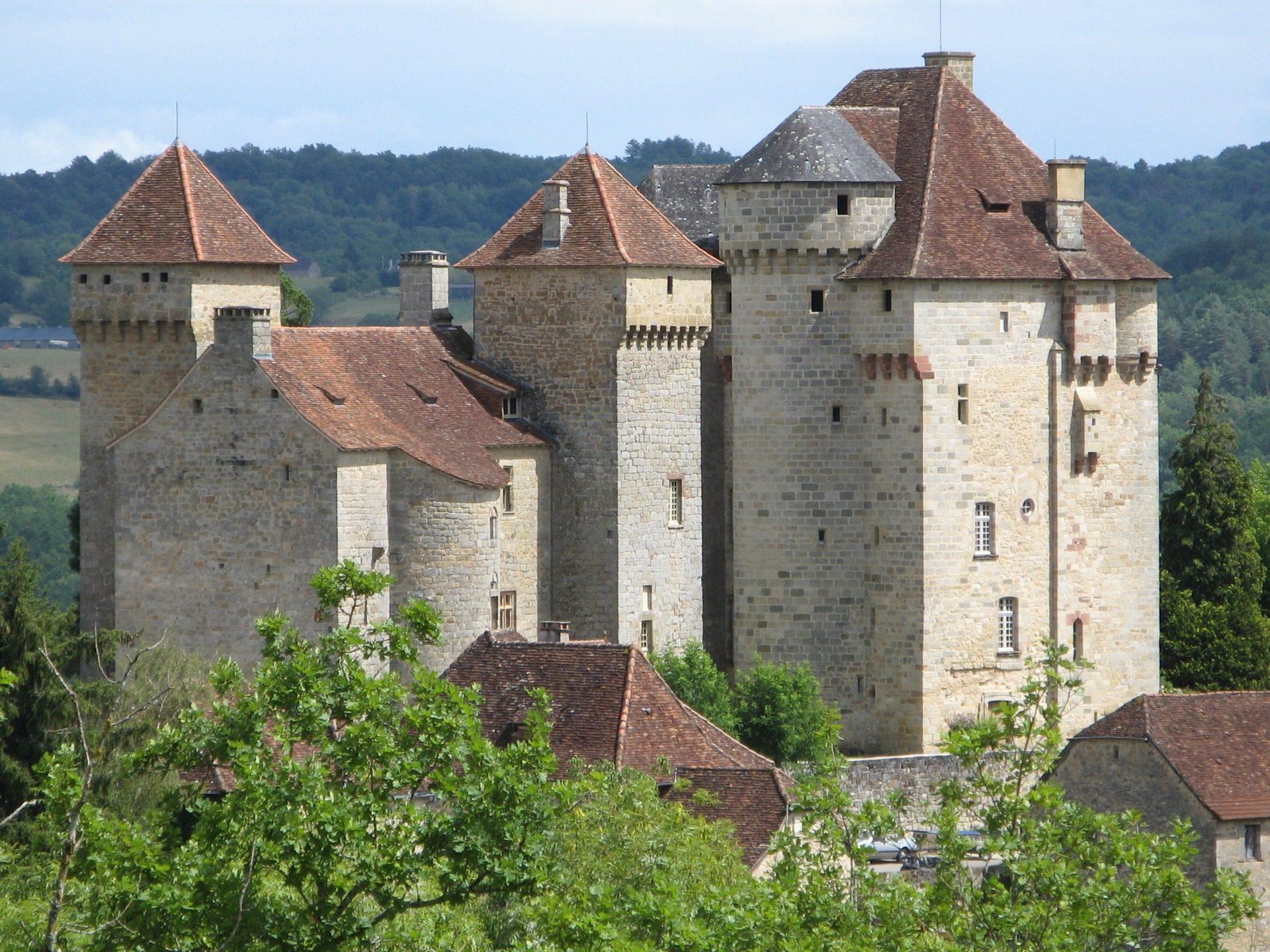 Castello, Edificación, Fortezza, Torres, Francia - Sfondi HD - Professor-falken.com