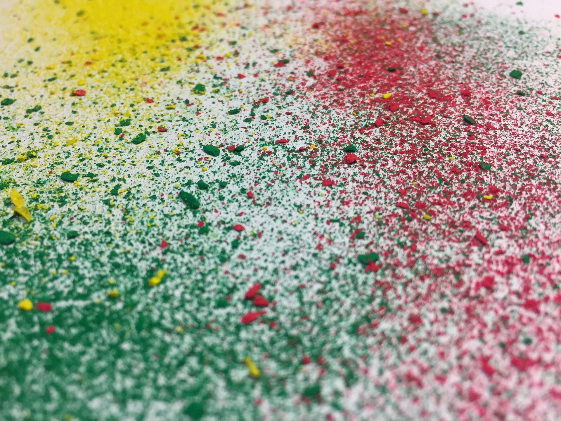 颜色, puntas, 蜡, 碎片, 芯片, 多彩 - 高清壁纸 - 教授-falken.com