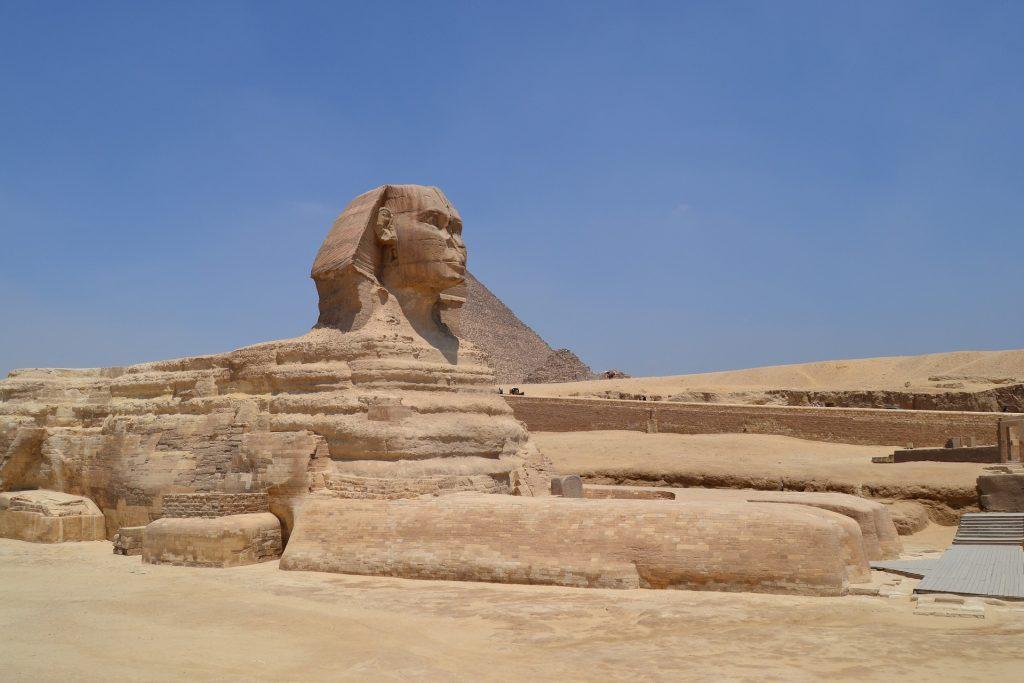 狮身人面像, 雕像, 纪念碑, 体系结构, 沙漠, 开罗, 埃及, 1706181148
