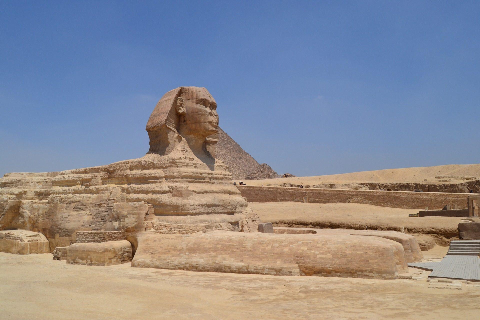 Sphinx, Statue, Denkmal, Architektur, Wüste, Kairo, Ägypten - Wallpaper HD - Prof.-falken.com