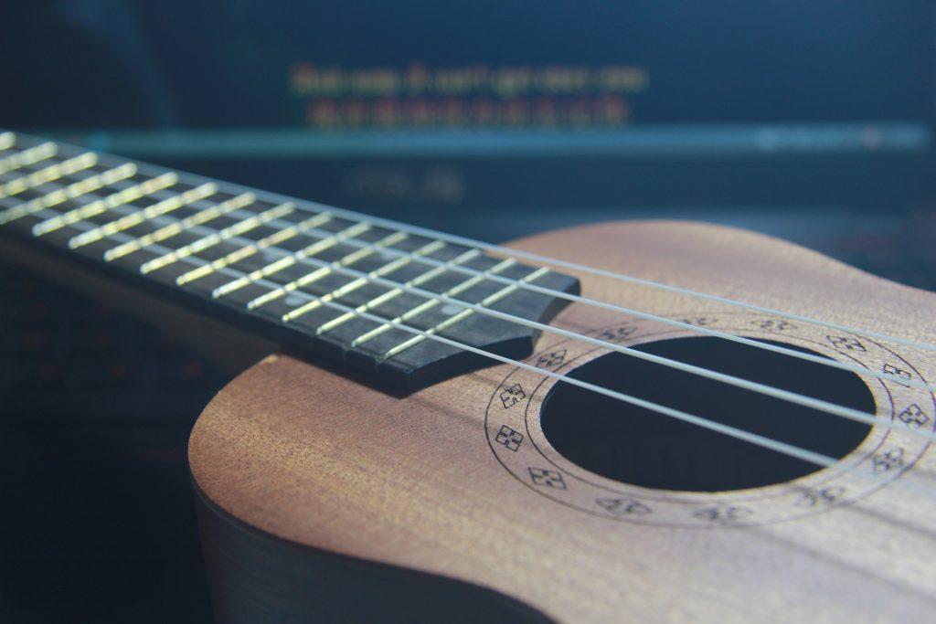 guitarra, cuerdas, mástil, sonidos, canciones, 1706171642