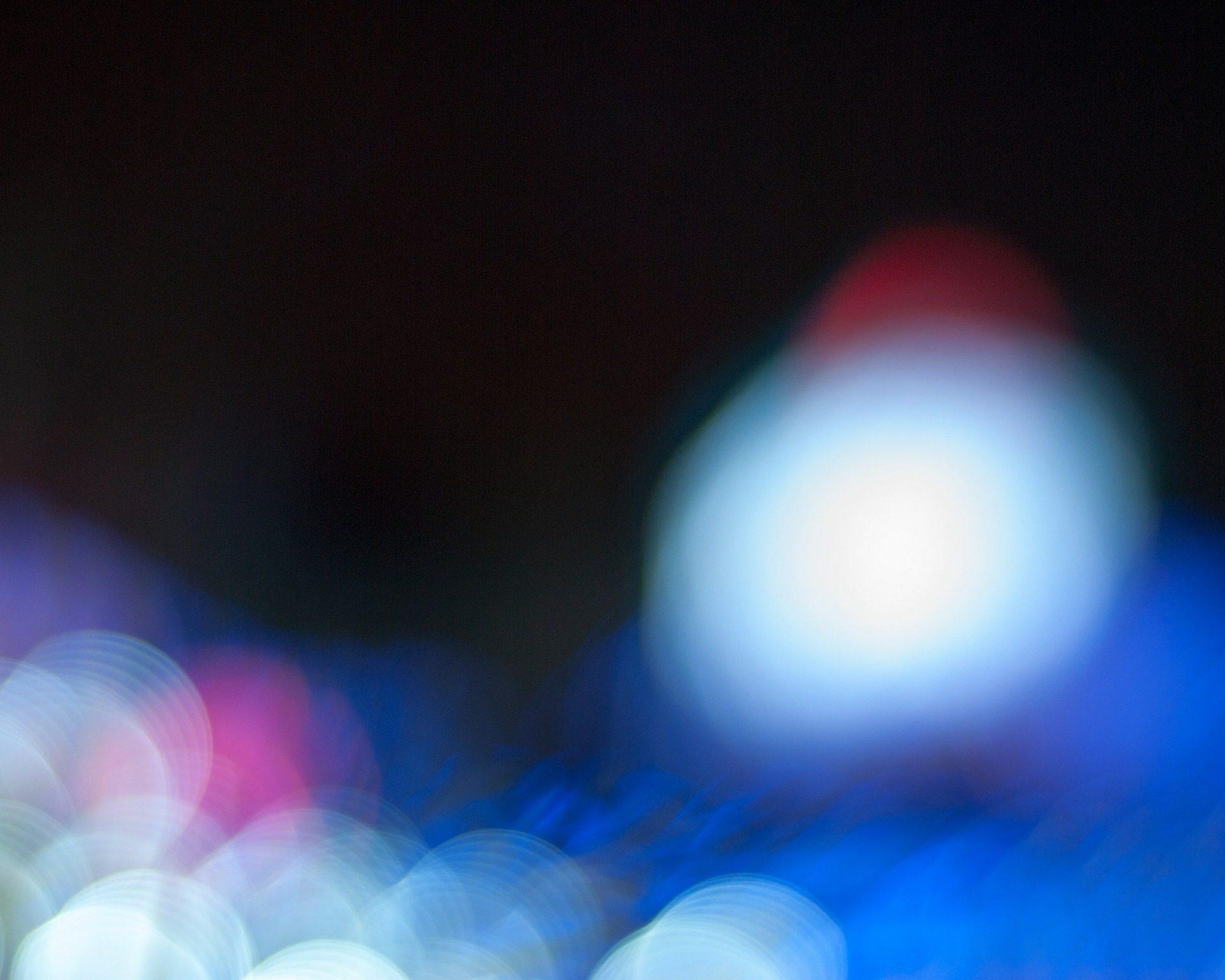 أضواء, هالات, أشكال, النقاط, التمويه, خوخة - خلفيات عالية الدقة - أستاذ falken.com