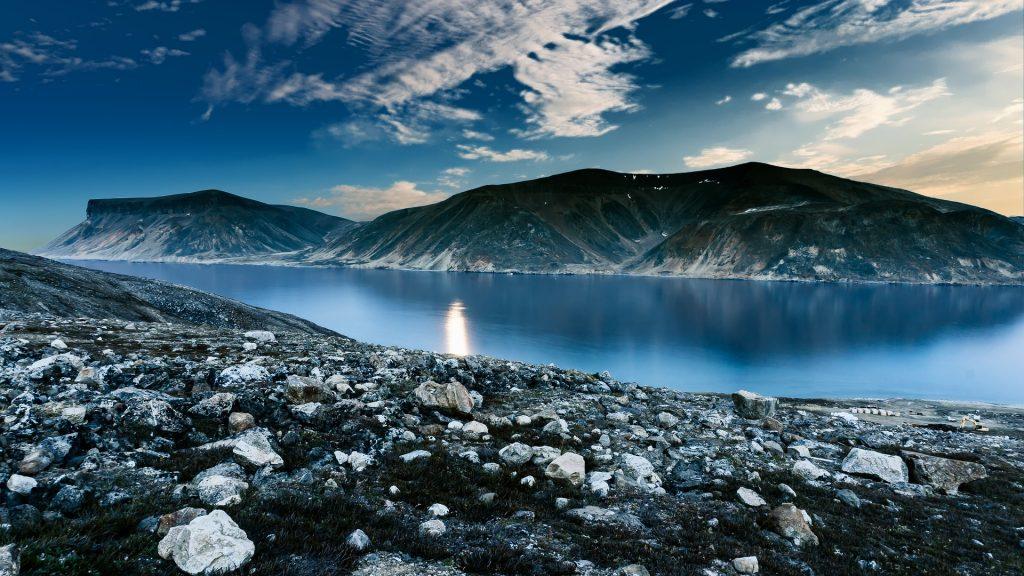 Montañas, 石头, 河, 奥, 宁静, 放松, 1706240851
