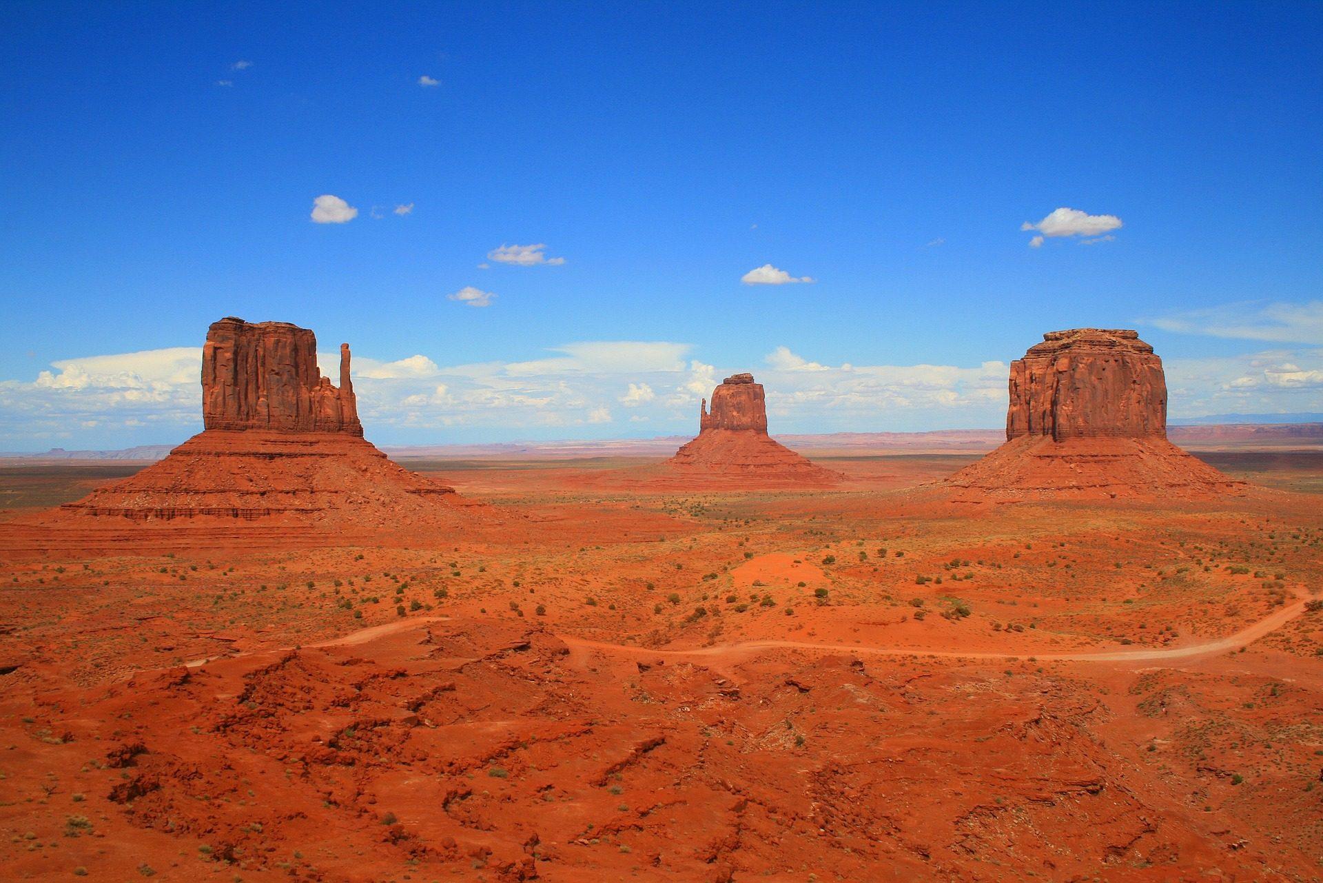 纪念碑谷, 沙漠, 亚利桑那州, 公园, 奥, 沙子 - 高清壁纸 - 教授-falken.com