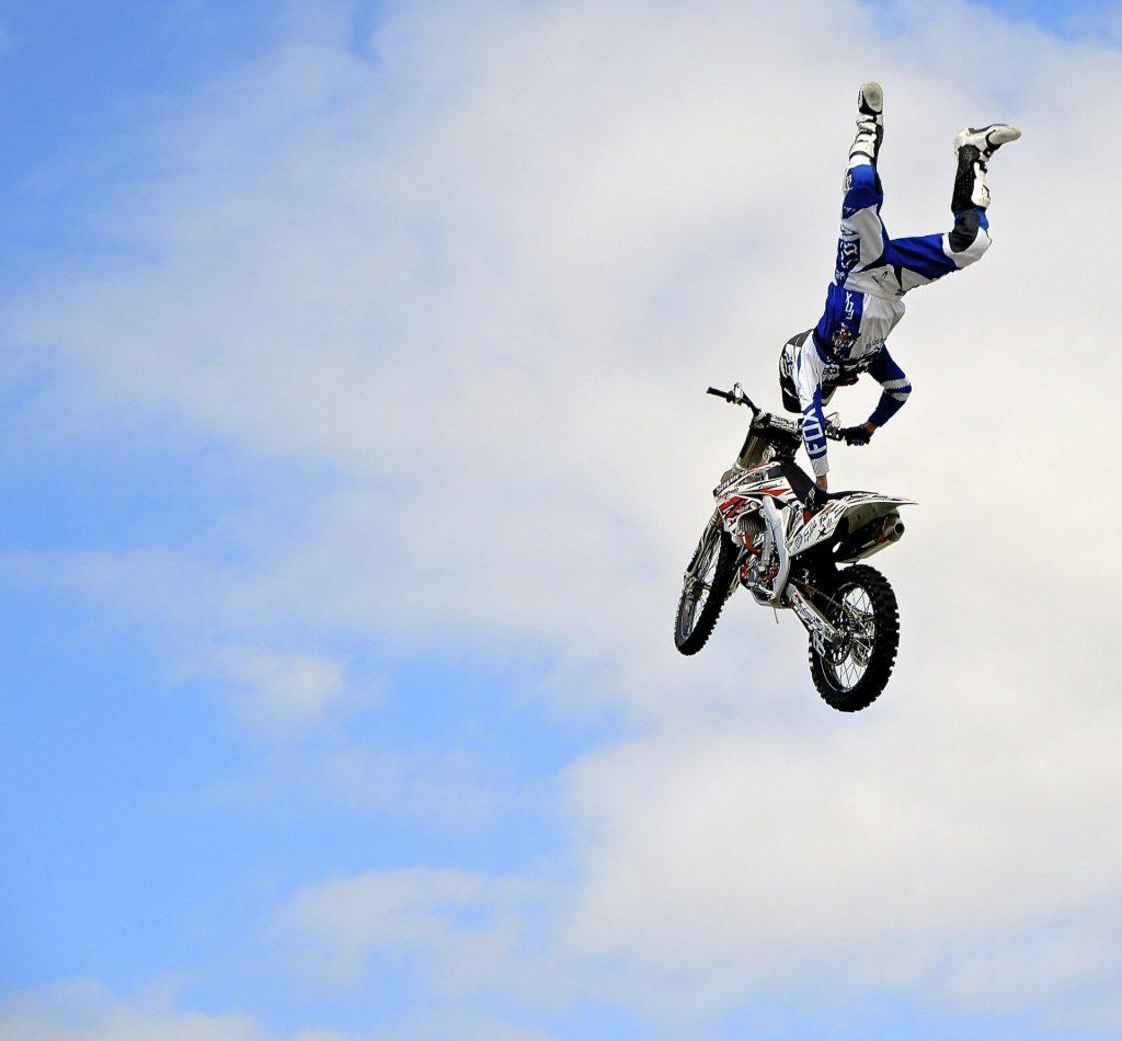 motocicleta, motocross, salto, riesgo, peligro, acción, 1706230846