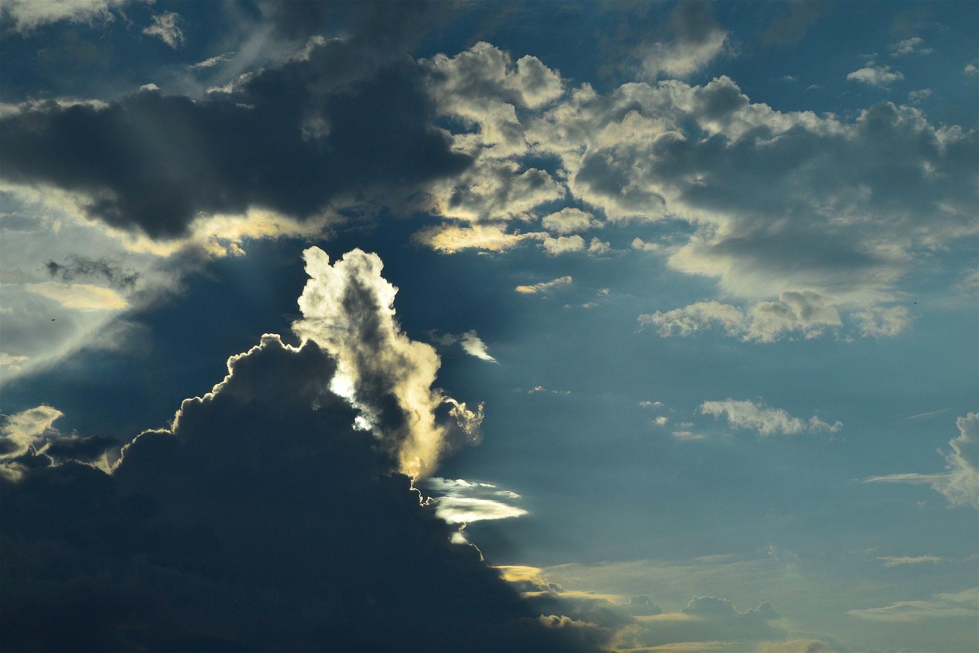 बादल, आकाश, resplandor, स�चमक�य, brillo, प्रकाश, बादल छाए रहेंगे - HD वॉलपेपर - प्रोफेसर-falken.com