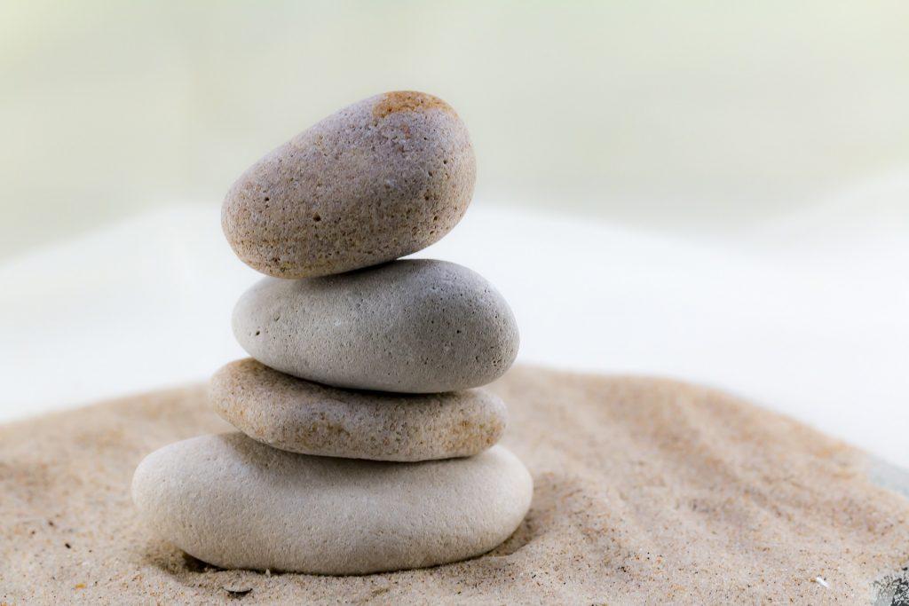 石头, 奥, 沙子, 平衡, 放松, 冷静下来, 1706291841