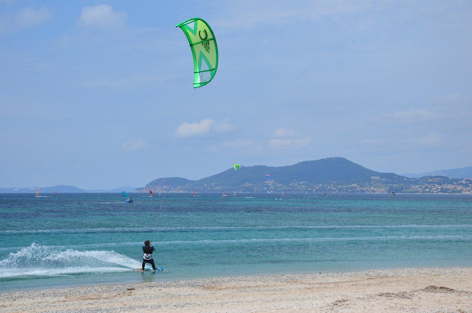 Пляж, Море, Кайтсерфинг, волны, Ветер - Обои HD - Профессор falken.com