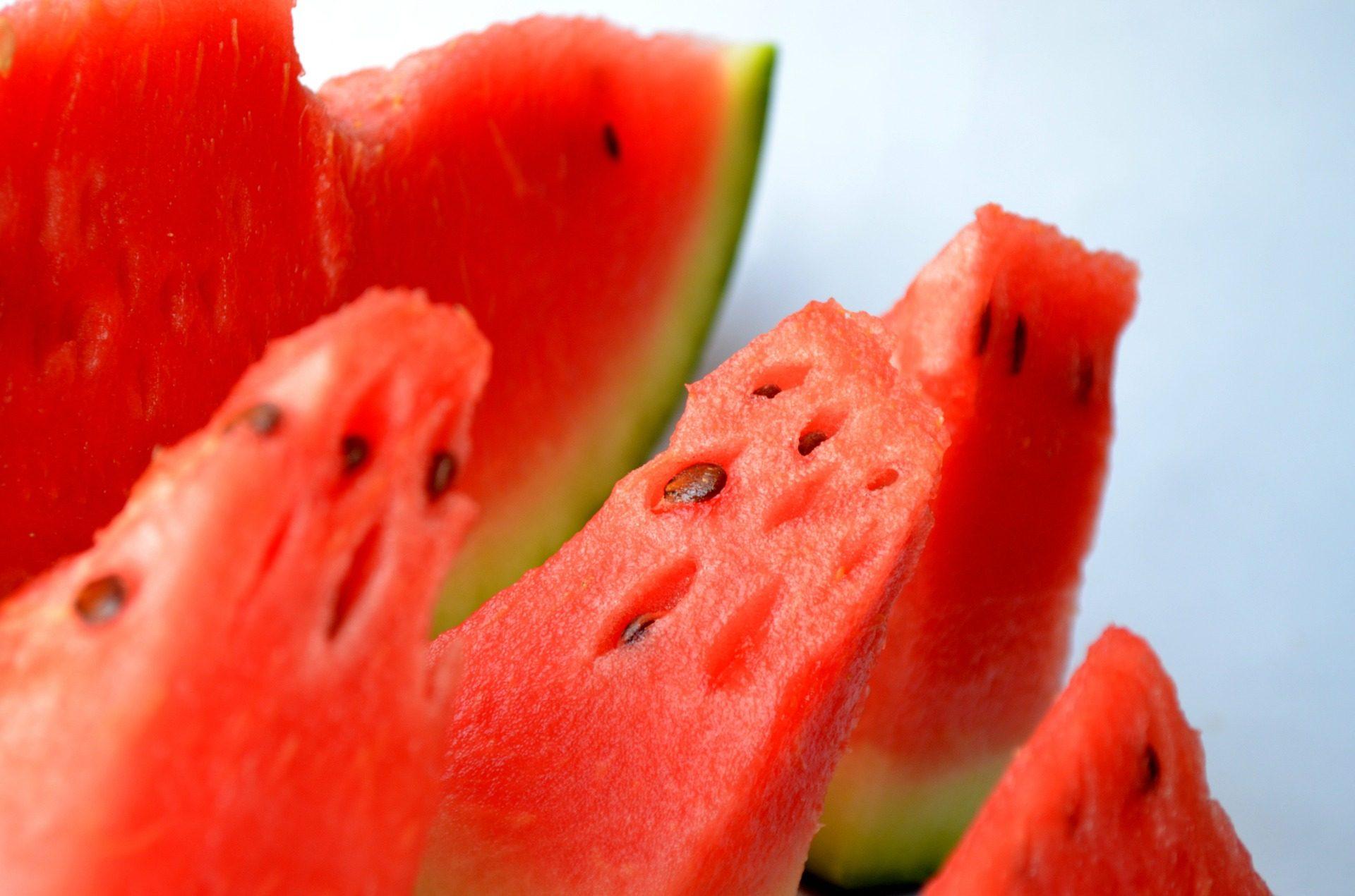 Anguria, frutta, dolce, estate, fresco, Rosso - Sfondi HD - Professor-falken.com