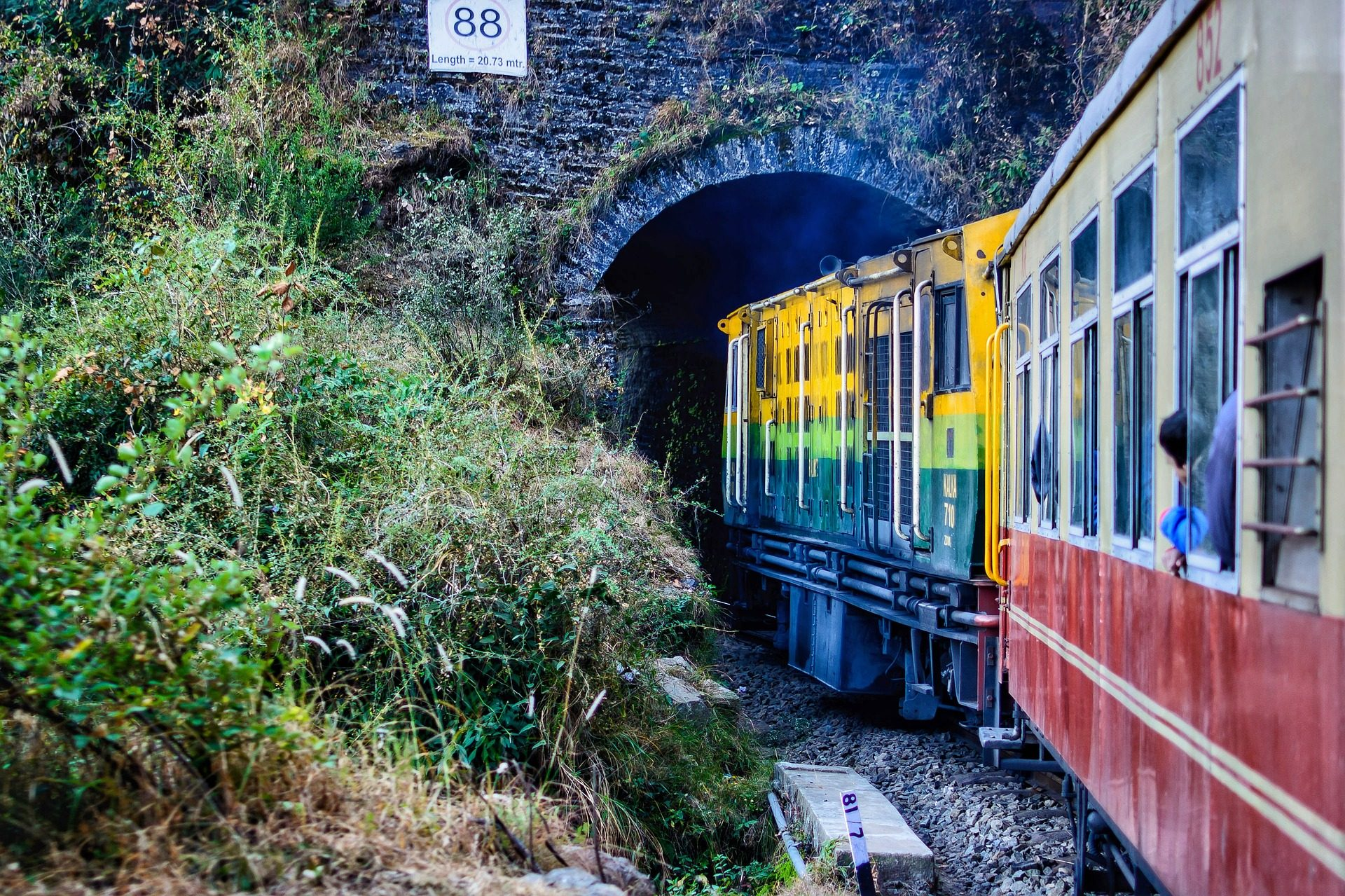 train, passagers, tunnel, voyage, wagons, Tourisme - Fonds d'écran HD - Professor-falken.com
