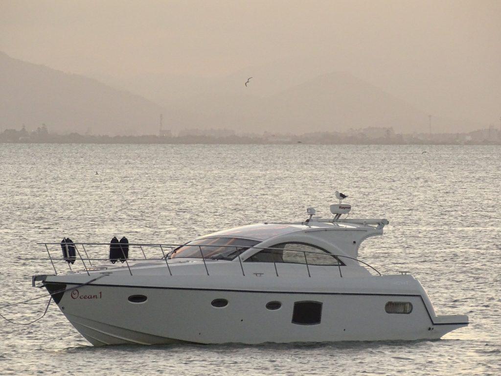 yate, barco, mar, lujo, gaviotas, 1706212312