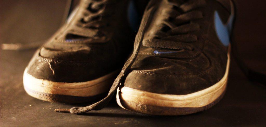 zapatillas, cordones, deportivas, sucias, usadas, nike, 1706231055