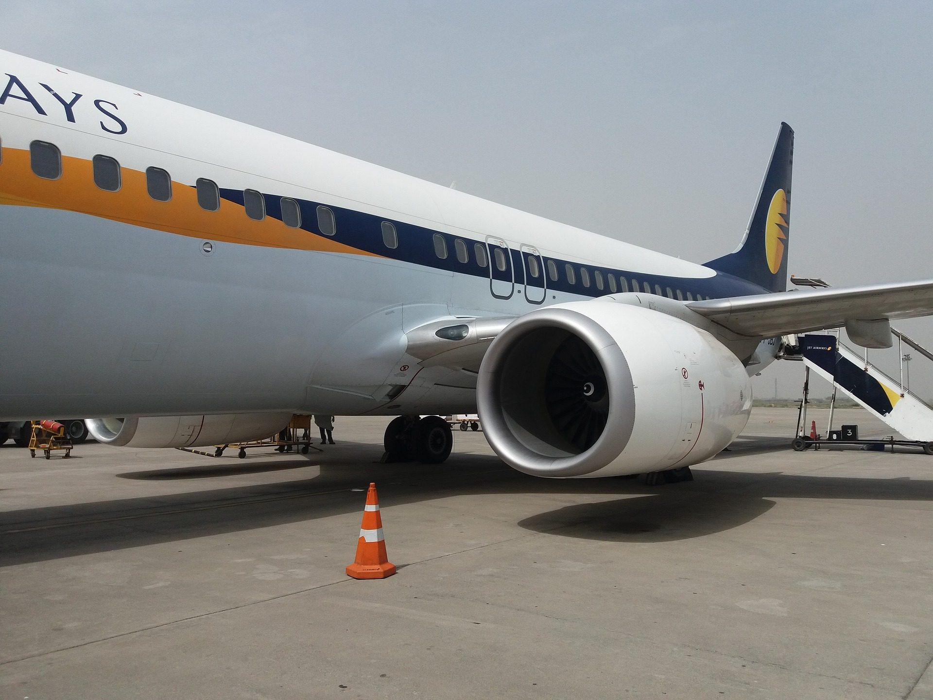 Avión, turbina, motore, Aeroporto, traccia - Sfondi HD - Professor-falken.com