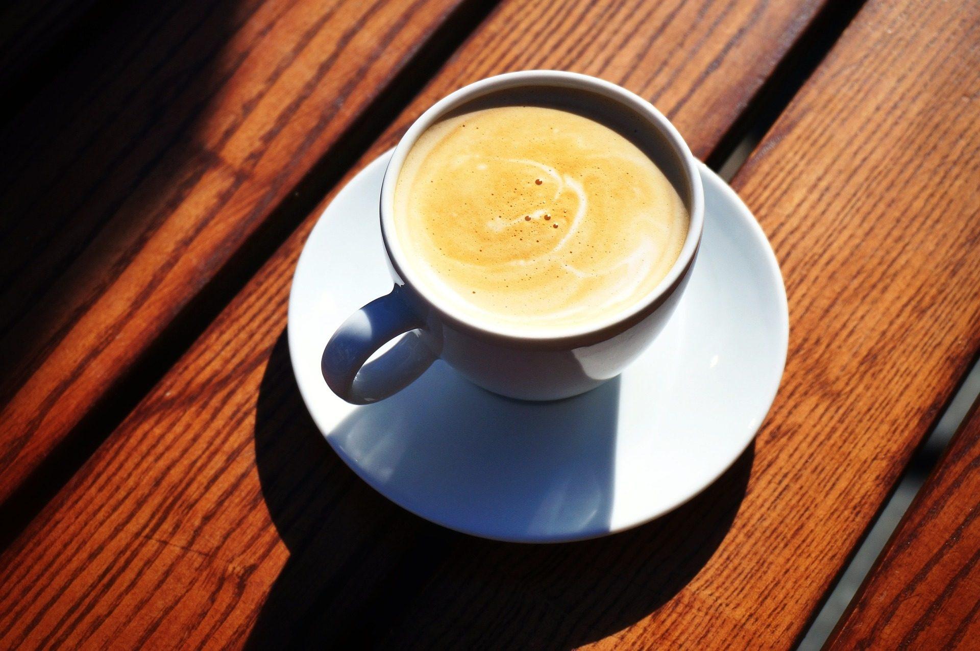 القهوة, كأس, إفطار, الرغوة, الشمس - خلفيات عالية الدقة - أستاذ falken.com