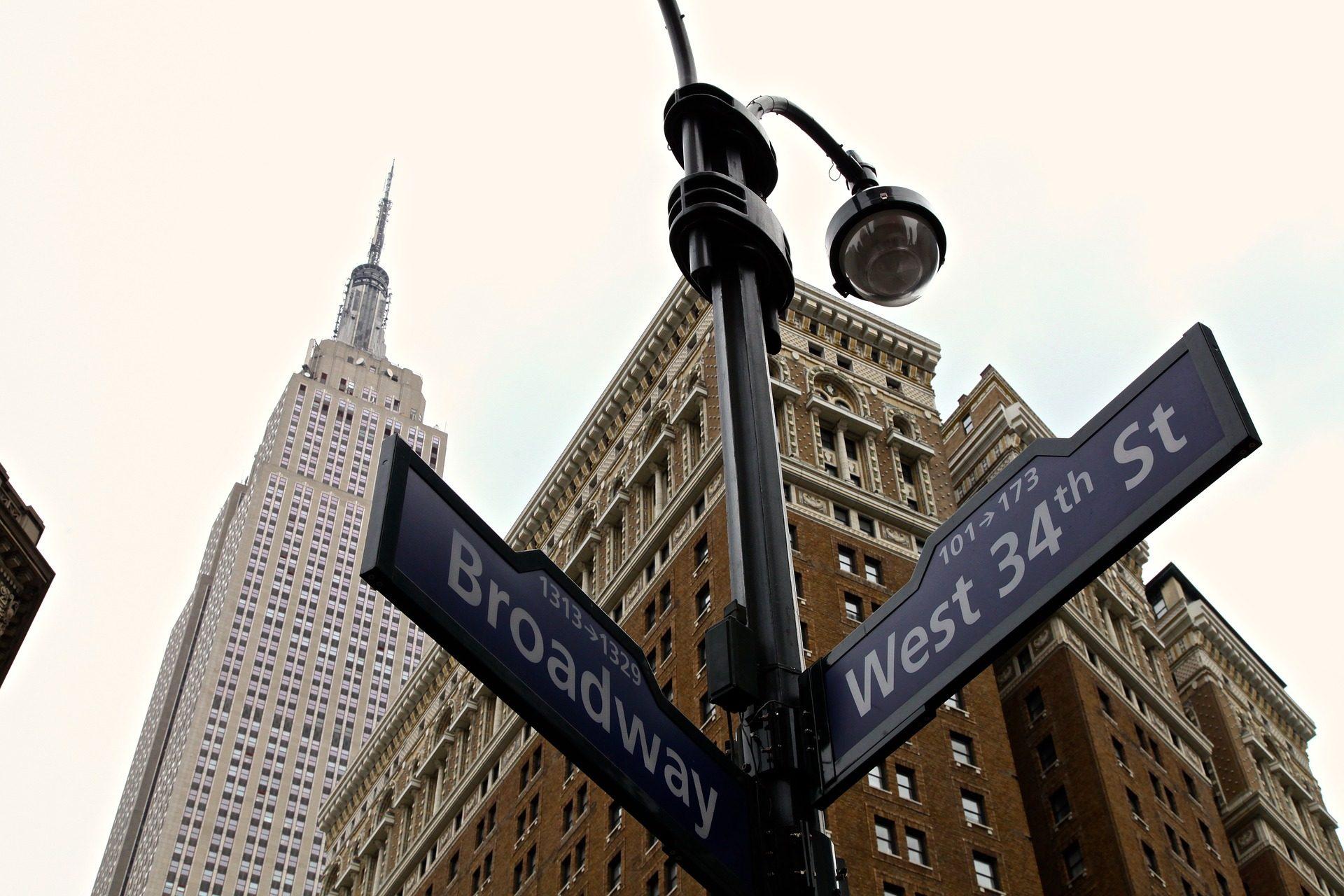 ciudad, rascacielos, señales, calles, direcciones, nueva york - Fondos de Pantalla HD - professor-falken.com
