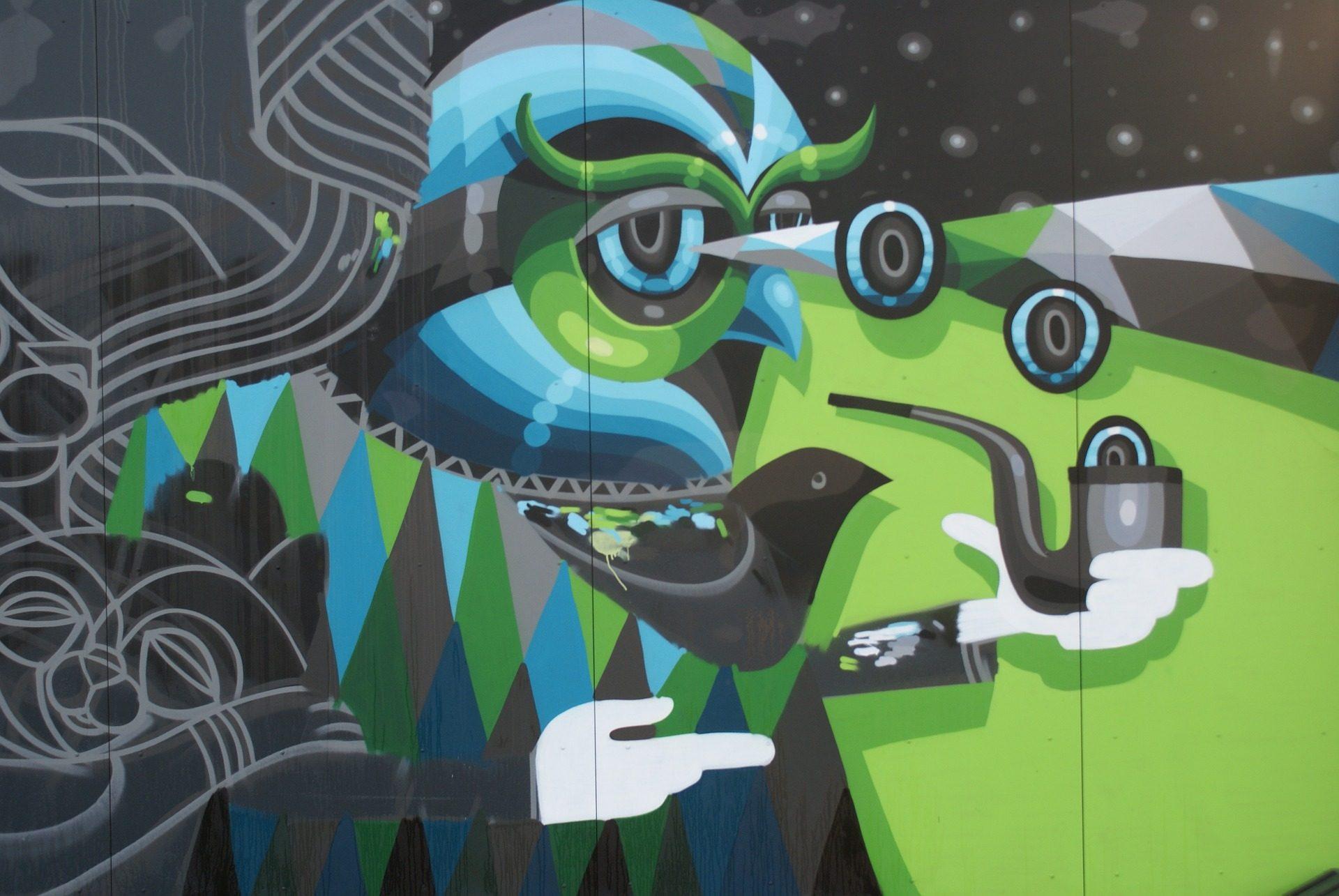 grafiti, pittura, disegno, arte, Via, pared, Parete - Sfondi HD - Professor-falken.com