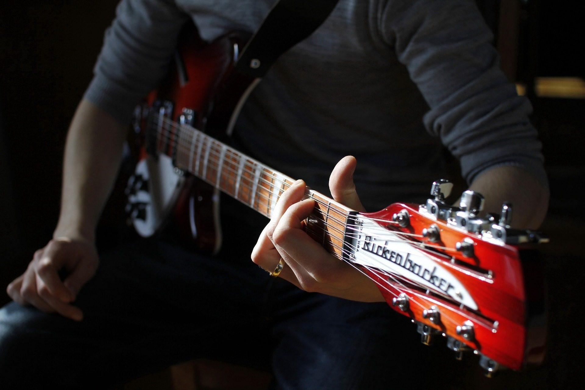 Гитара, электрические, Мачта, строки, Rickenbacker - Обои HD - Профессор falken.com