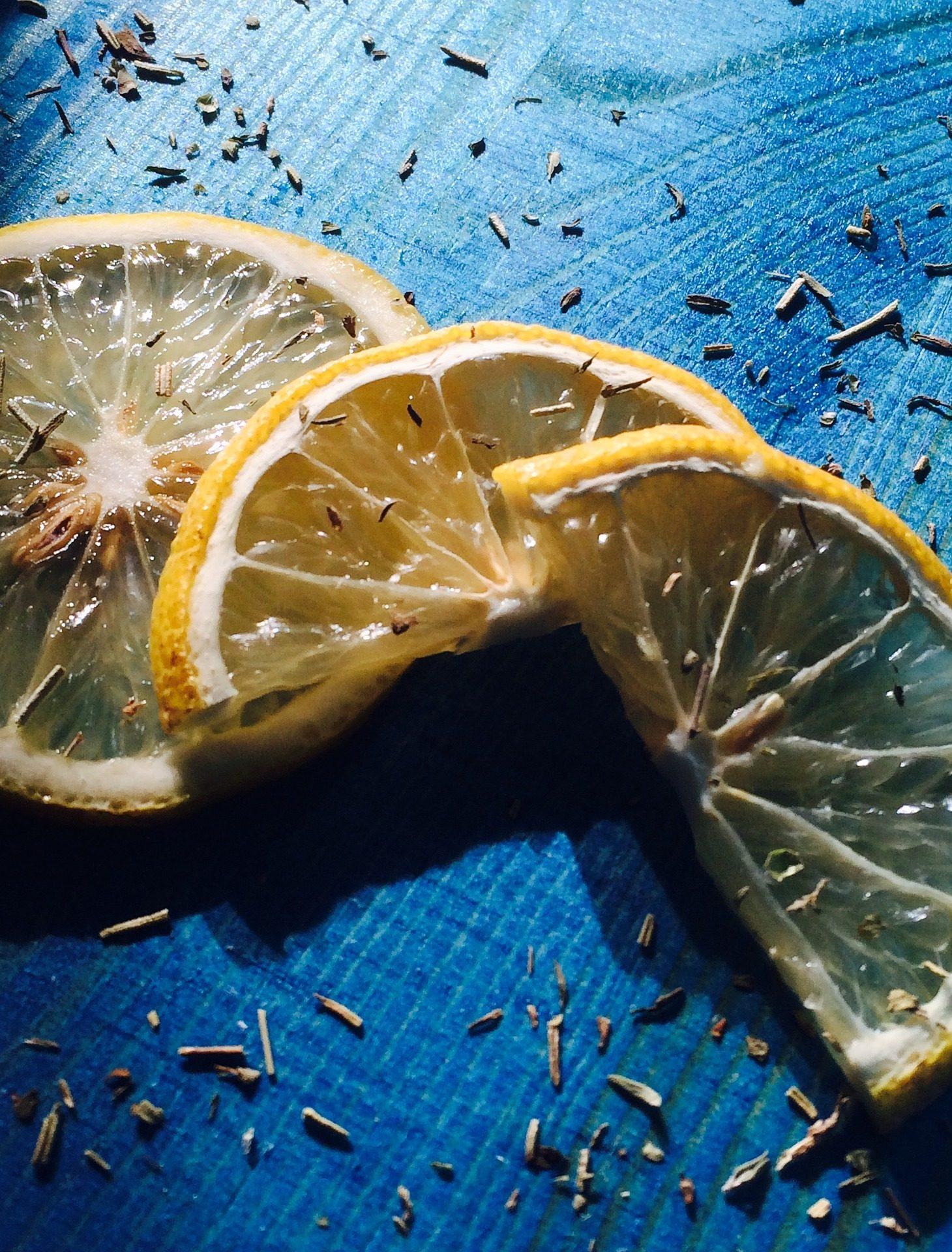 柠檬, 切片, 香料, 草药, 芳香族, 木材 - 高清壁纸 - 教授-falken.com